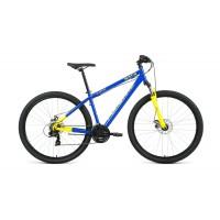 "Велосипед FORWARD SPORTING 29 2.1 БАТЭ 21"" 2021 синий / желтый + ПОДАРОК"