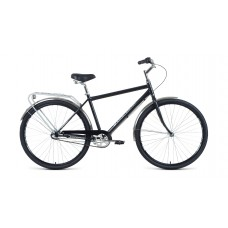 Велосипед FORWARD DORTMUND 28 3.0 2021 черный / серебристый