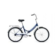 "Велосипед Forward Valencia 24 1.0 (рост 16"") 2020 темно-синий / серый"