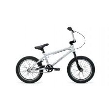 Детский велосипед Forward Zigzag 16 2020 серый / черный