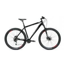 Велосипед FORMAT 1422 29 XL 2021 чёрный матовый