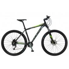 Велосипед POLAR TSUNAMI black-fluo green 20 XL 2021