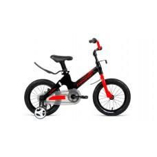 Детский велосипед Forward Cosmo 14 2020 черный/красный