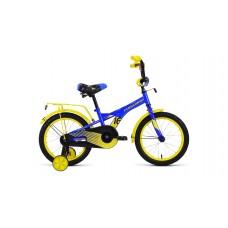 Детский велосипед Forward Crocky 16 2020 синий / желтый