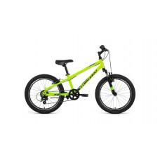 """Детский велосипед Forward Unit 20 2.0 (рост 10.5"""") 2020 желтый / черный"""