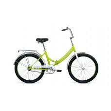 """Велосипед Forward Valencia 24 1.0 (рост 16"""") 2020 зеленый / серый"""