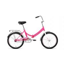 "велосипед Forward Arsenal 20 1.0 (рост14"")2020 розовый / серый"