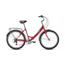"""Велосипед Forward Sevilla 26 2.0 (рост 18.5"""") 2020 красный / белый"""