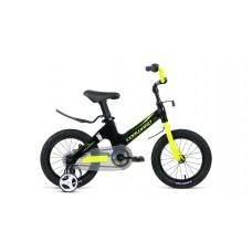 Детский велосипед Forward Cosmo 12 2020 черный/зеленый