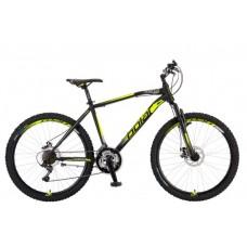 Велосипед POLAR WIZARD 2.0 black-fluo yellow 20 L 2021