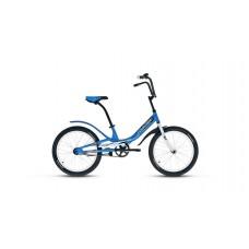 """Детский велосипед Forward Scorpions 20 1.0 (рост 10.5"""") 2020 синий / белый"""