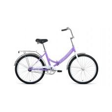 """Велосипед Forward Valencia 24 1.0 (рост 16"""") 2020 фиолетовый / серый"""