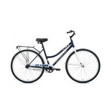 Велосипед ALTAIR CITY 28 low 2021 темно-синий / белый