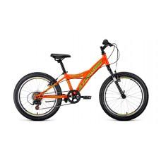 """Детский велосипед Forward Dakota 20 1.0 (рост 10.5"""") 2020 оранжевый / светло-зеленый"""
