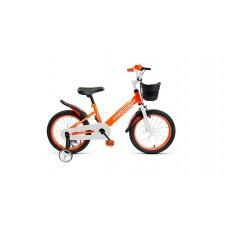 Детский велосипед Forward Nitro 18 2020 оранжевый/белый