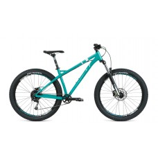 Велосипед FORMAT 1313 Plus 27,5 S 2021 бирюзовый матовый