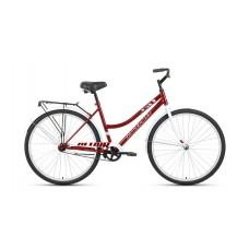 Велосипед ALTAIR CITY 28 low 2021 темно-красный / белый