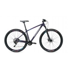 Велосипед FORMAT 1211 29 M 2021 чёрный хамелеон