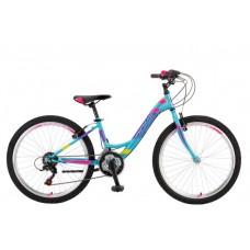 Велосипед POLAR MODESTY 24 turquoise 20 2021