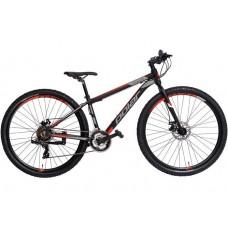 Велосипед POLAR MIRAGE URBAN black-red 19 L 2021