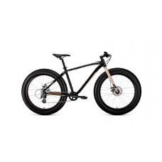 """велосипед Forward Bizon 26 (рост18"""")2020 черный / бежевый"""
