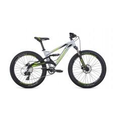 Велосипед FORMAT 6612 24 14.5 2021 серебристый / чёрный матовый