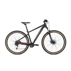 Велосипед FORMAT 1411 29 L 2021 чёрный матовый