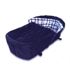 Утеплитель для санок Барс Шустрик Люкс с конвертом для ног dark blue
