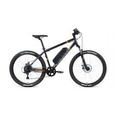 Электровелосипед FORWARD CYCLONE PLUS 26 2.0 disc 500w 2021 темно-синий