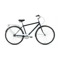 Велосипед FORWARD DORTMUND 28 3.0 2021 темно-синий / белый