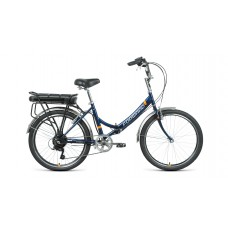 """Электровелосипед FORWARD RIVIERA 24 250w (рост 16"""") 2021, черный"""