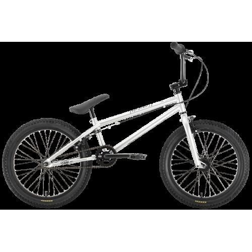 Велосипед Stark Madness BMX 1 2021 (серебристый/черный)