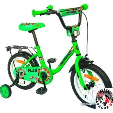 Детский велосипед Nameless Play 12 2021 (зеленый)