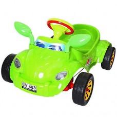 Машинка педальная RT Молния ОР09-903 green