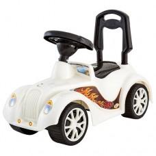 Машинка-каталка RT Ретро с клаксоном ОР900 white/black