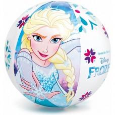 Пляжный мяч Intex Холодное сердце 58021NP