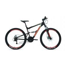 """Велосипед FORWARD RAPTOR 27,5 2.0 DISC 16"""" 2021 черный / красный"""