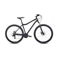 """Велосипед FORWARD SPORTING 29 2.2 DISC 17"""" 2021 черный / темно-серый"""
