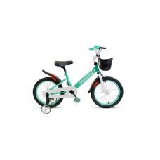 Детский велосипед FORWARD NITRO 18 2021 бирюзовый