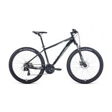 "Велосипед FORWARD APACHE 27,5 2.2 S DISC 17"" 2021 черный / серый"