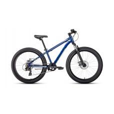 Велосипед FORWARD BIZON MINI 24 2021 синий