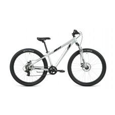 Велосипед FORWARD TORONTO 26 2.2 DISC 2021 серебристый / черный