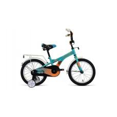 Детский велосипед FORWARD CROCKY 16 2021 бирюзовый / оранжевый