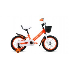 Детский велосипед FORWARD NITRO 14 2021 оранжевый