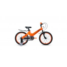 Детский велосипед FORWARD COSMO 16 2.0 2021 оранжевый