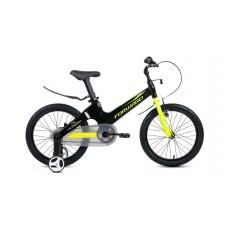 Детский велосипед FORWARD COSMO 18 2021 черный / зеленый