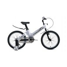 Детский велосипед FORWARD COSMO 18 2021 серый