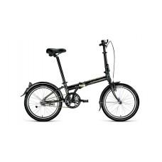 Велосипед FORWARD ENIGMA 20 1.0 2021 черный / бежевый