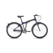 Велосипед FORWARD TRACER 26 3.0 2021 синий / оранжевый