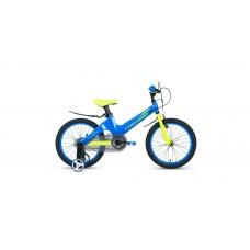 Детский велосипед FORWARD COSMO 16 2.0 2021 синий